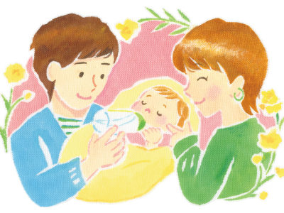 産後の回復は二人の共同作業。ママの心身を休めるサポートを